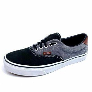 Vans Skate Shoes Mens 8 Gray Black TB4R Sneakers